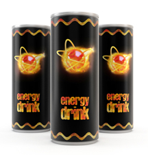 Private label energy drink